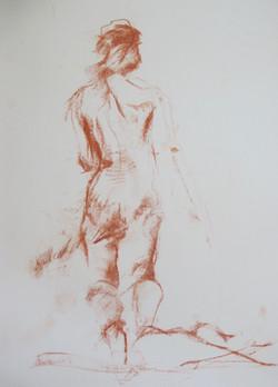 red chalk back