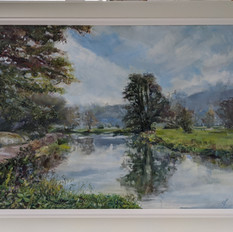 stephen kinder river wey early autumn.jp