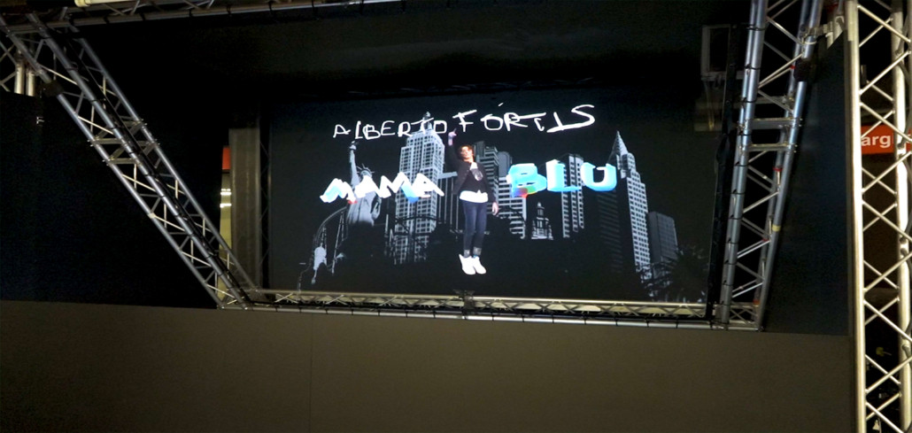 Showcase Holographique : Alberto Fortis & MamaBlu