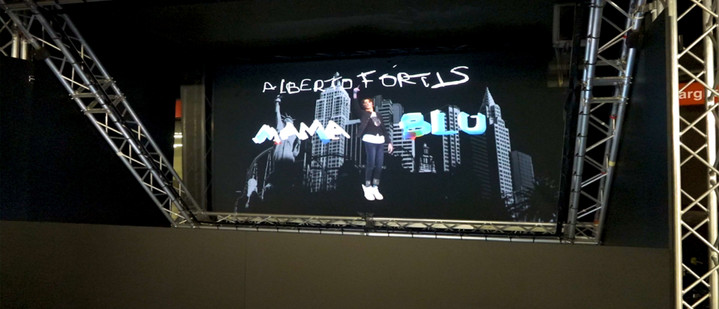 Holographic Show-case: Alberto Fortis & MamaBlu