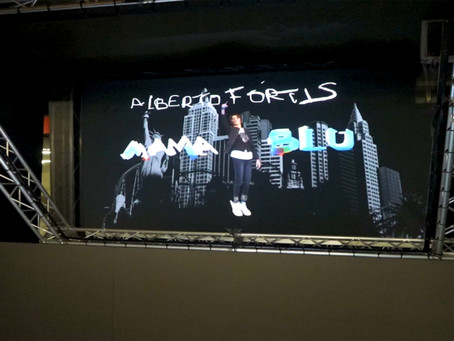 Show-case Holographique: Alberto Fortis & MamaBlu
