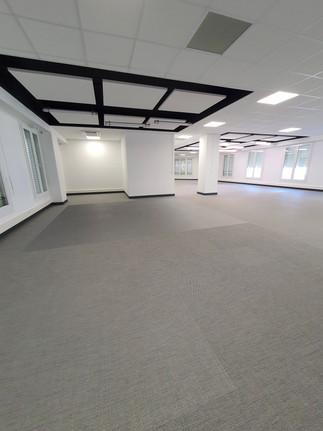 Rénovation bureaux sols tissés