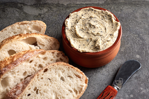 Truffle Butter Recipe... the quick way and the long way