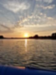 Magnifique lever du jour dans le Golfe du Morbihan
