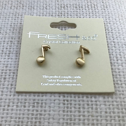 FRESH & Co. Music Lover Studs