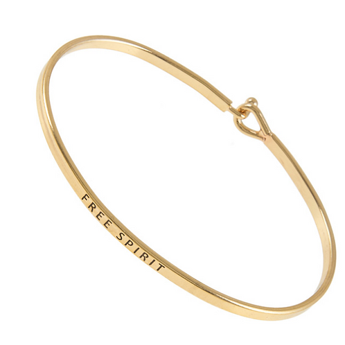 FRESH Bracelets - Free Spirit - Brass/Gold