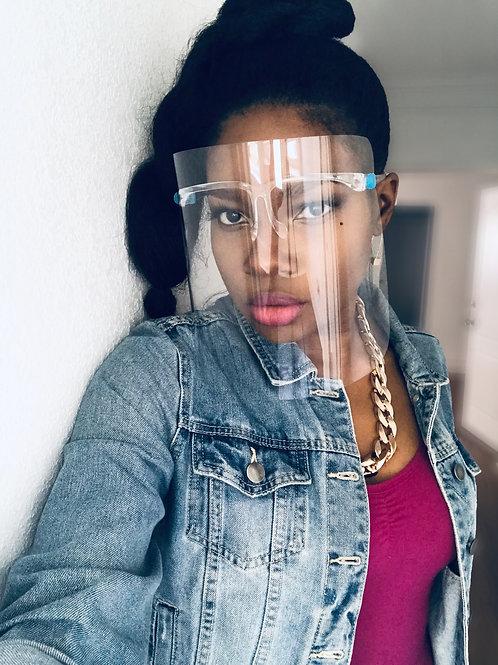 Transparent Full Face Shield