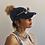 Thumbnail: Distressed Denim Ponytail Hat