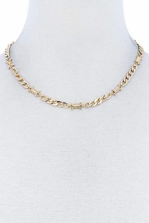 Designer Chic Chain Necklace