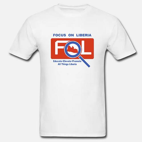 FOCUS ON LIBERIA Unisex Jersey Tee
