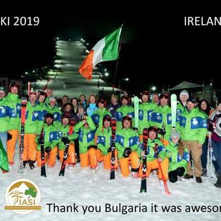 Irish Interski Team & Supporters 2019