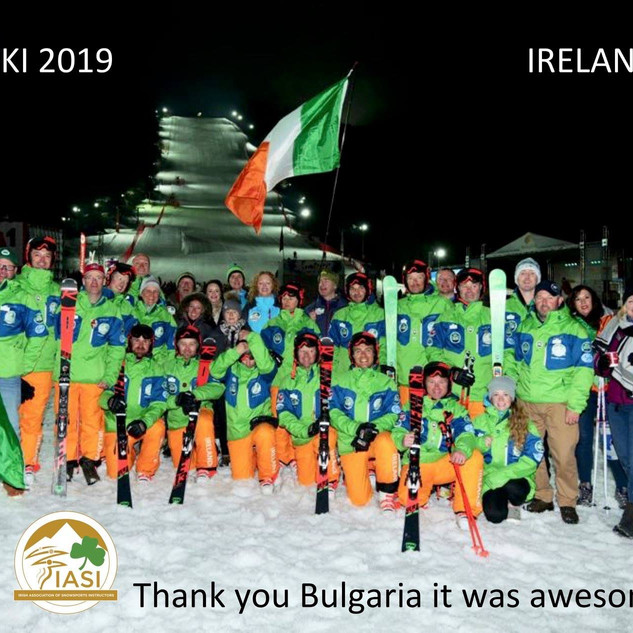 Irish Interski Team & Supporters 2019
