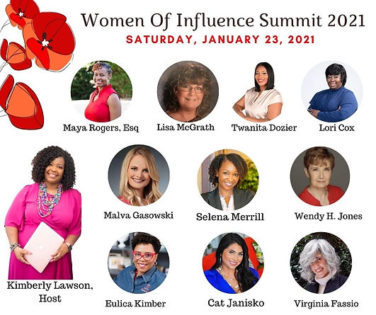 Women Of Influence Summit Official Flyer