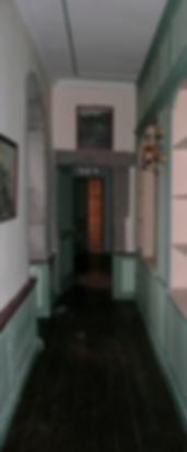 Chateau de Grilly interior corridor
