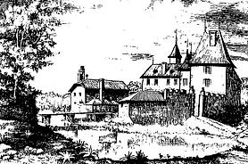 Chateau de Grilly maison de gardiens