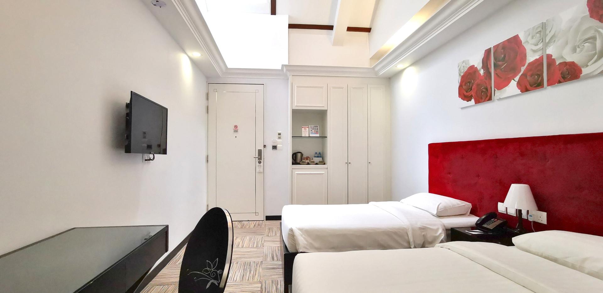 Triple Skylight Room