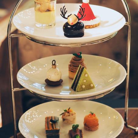 周旋于经典和创新之间的圣诞节庆下午茶:Banyan Tree Hotel & Residences; Mandarin Oriental Hotel