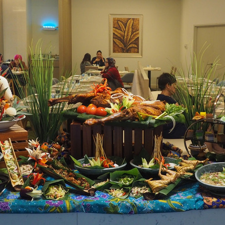 宏愿之年庆开斋:Garden Grille Restaurant, Hilton Garden Inn Puchong
