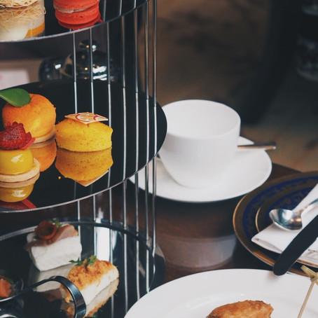 香厅鹊喜甜满陇:新春下午茶,Shangri-La Hotel Lobby Lounge