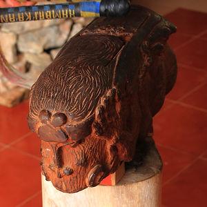 artesanía en madera hecha en u belilek kaxtik quintana roo