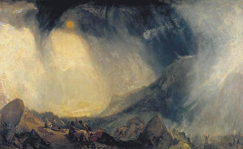 Pintura de Joseph Mallord W. Turner.