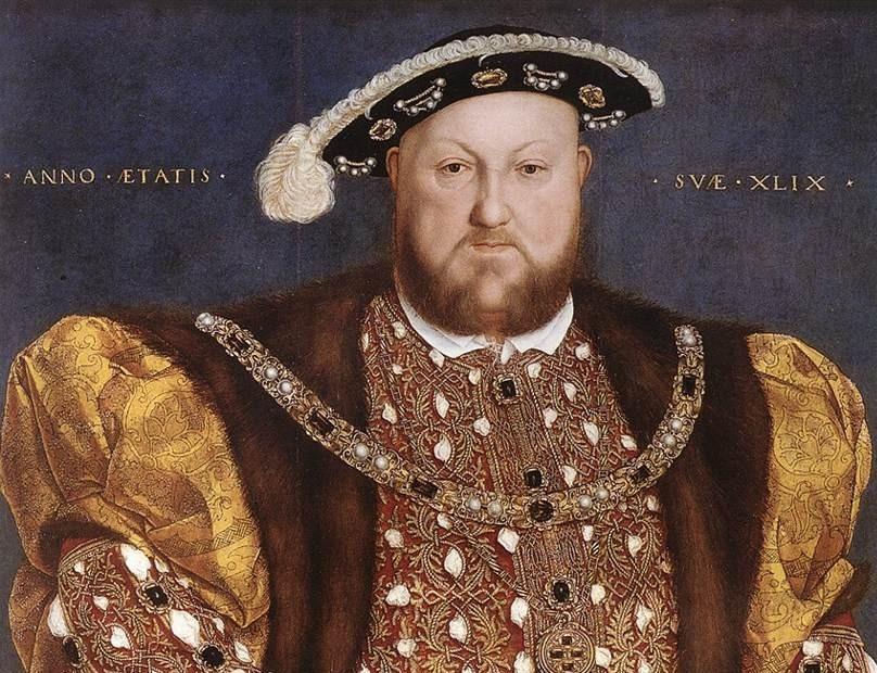 El rey Enrique VIII de Inglaterra.