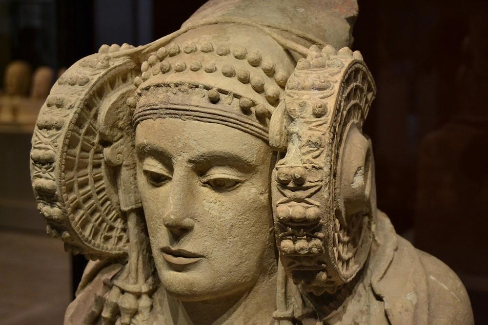 Busto de la Dama de Elche.