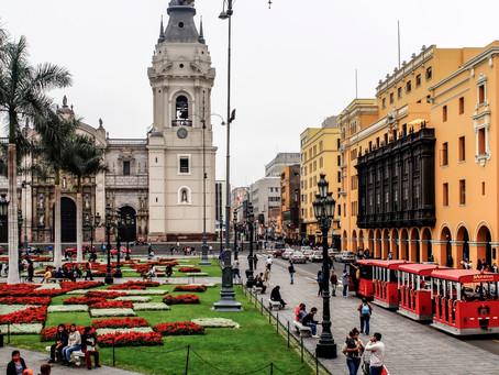 Lima y otras ciudades coloniales españolas