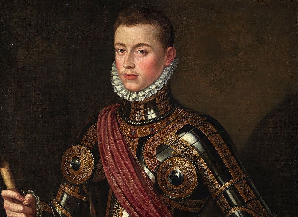 Retrato de Juan de Austria.