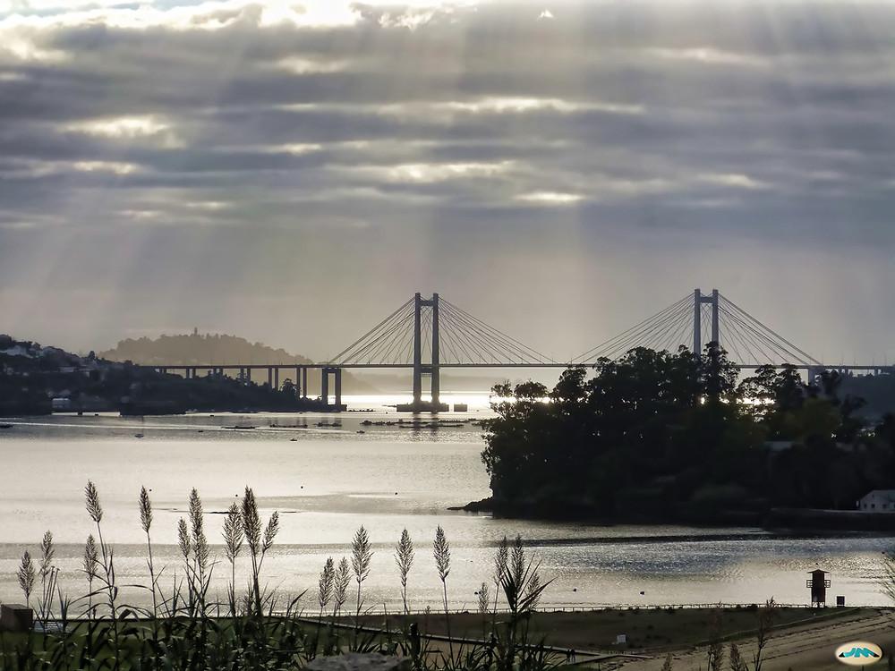 Puente de Rande, ría de Vigo.