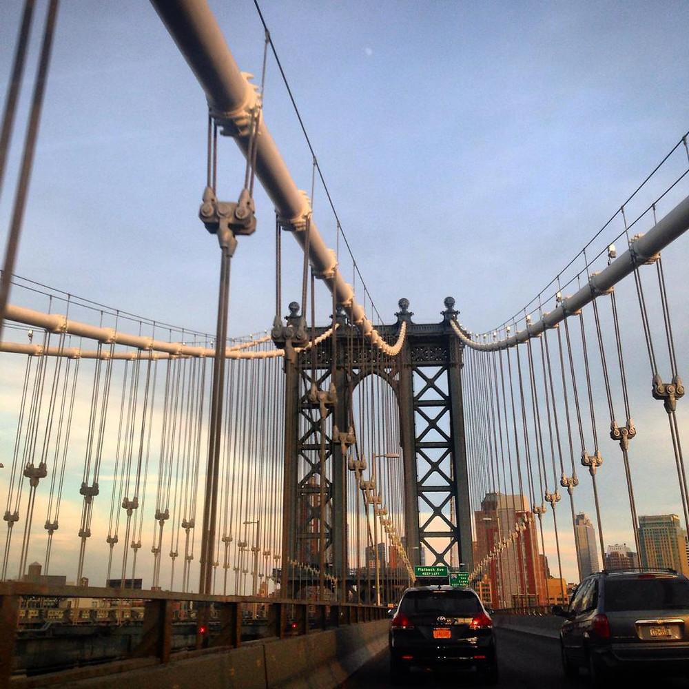 Puente de Brooklyn en NYC.