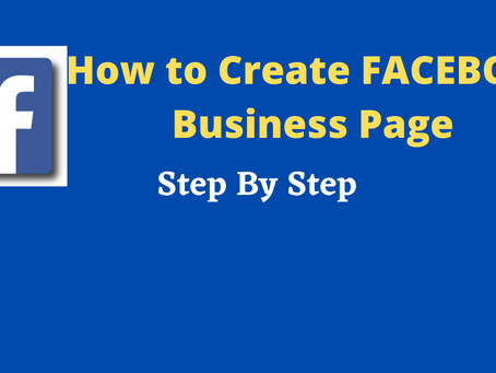 How to Create Facebook Business Page | Facebook Page | Dizi Global Solution