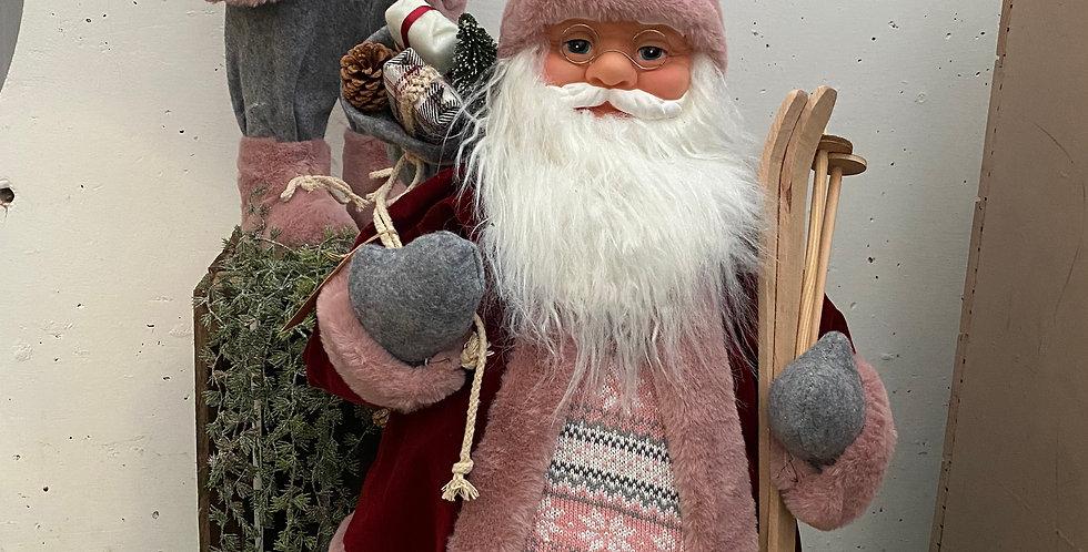 Père Noël rose