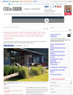 REVISTA CASA E JARDIM - SET 2015