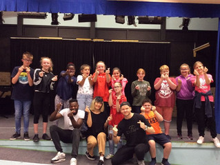 Dance Residency at Royal School for the Deaf, Derby
