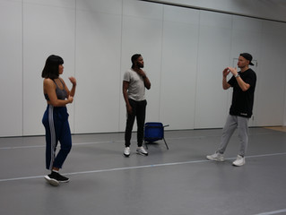 Studio Sessions: Day One - with Deaf Dancers Chris Fonseca and Ariel Fung