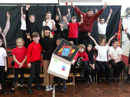 Dance Residency at Knotty Ash Primary School