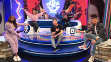 BLUE PETER: Live interview and performance on the show