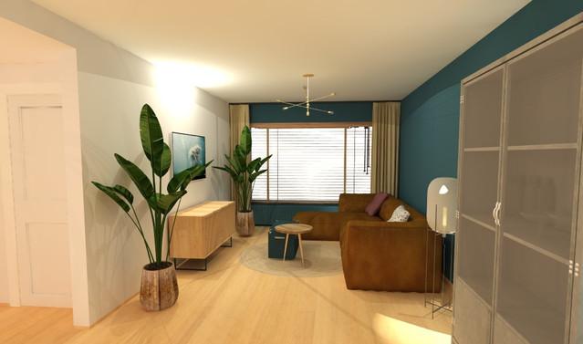 Kleur en meubel ontwerp
