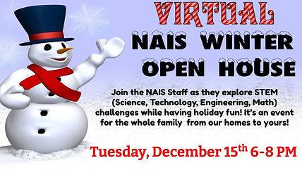 NAIS 2020 Virtual Winter Open House- STE