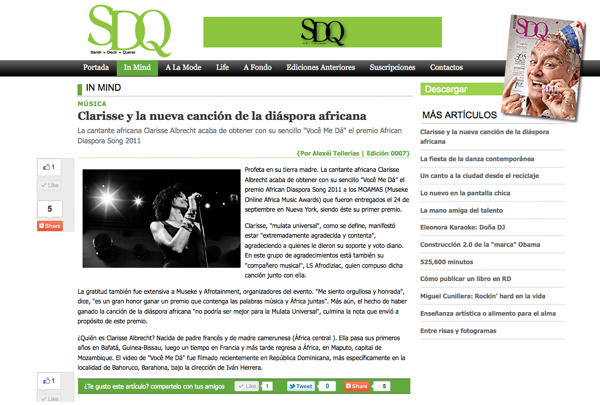 SDQ (Web), Republica Dominicana