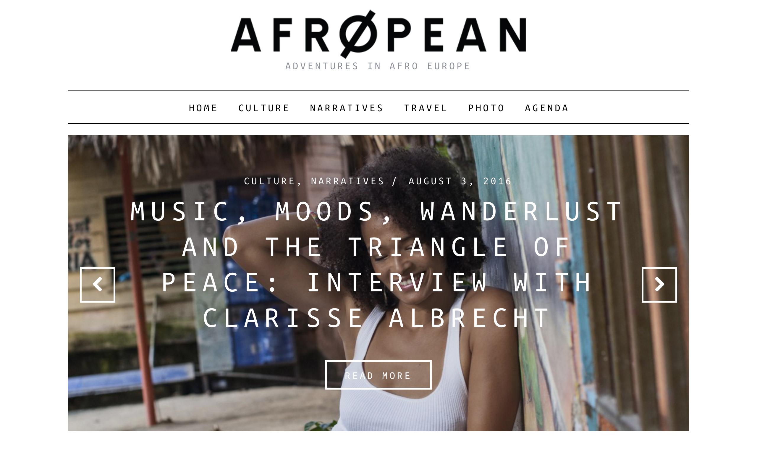 Afropean - UK - August 2016