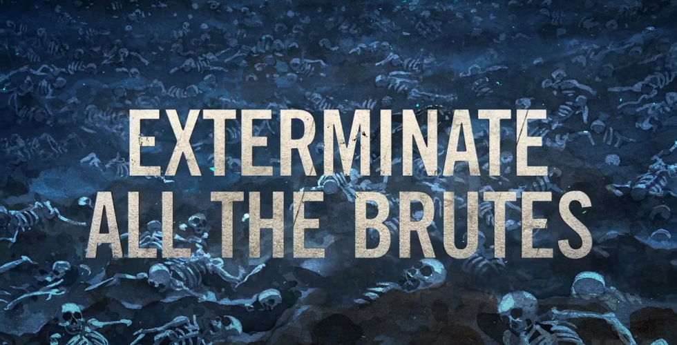 Exterminate All The Brutes, Directed by Raoul Peck