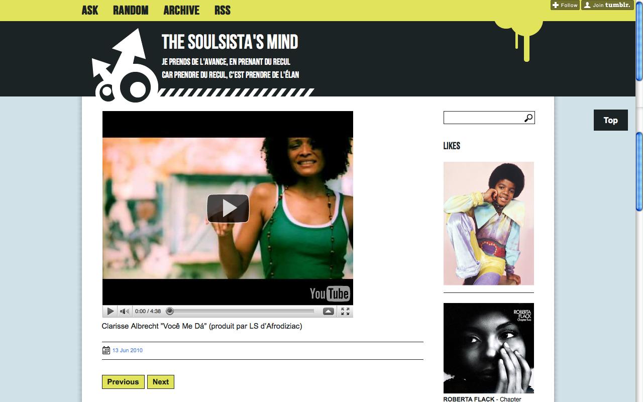The Soul Sista's Mind, 2010