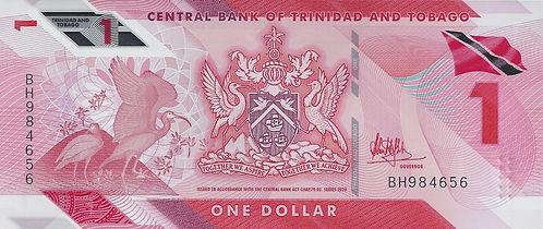 Trinidad et Tobago 1TTD 2021 BH984656 R.