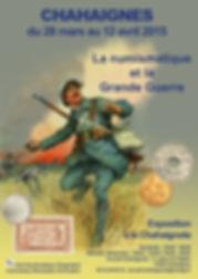 Affiche Expo Guerre 14-18 Chahaignes1.jp