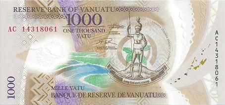 Vanuatu 1000Vatu 2014
