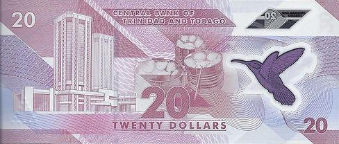 Trinidad et Tobago 20TTD 2020 AA779374 V