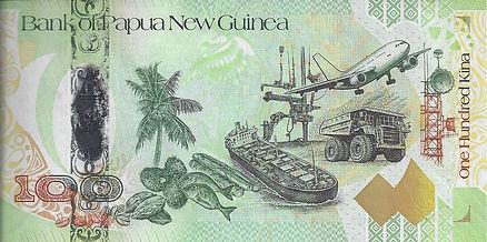 Papouasie Nouvelle Guinée 100PGK BPNG177