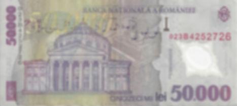 Roumanie 50000LEI 2002 023B4252726 V_edi